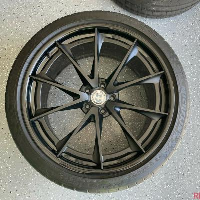 "Set for Ferrari F12 Berlinetta - 20"" Front and 21"" Rear, Tires Included"
